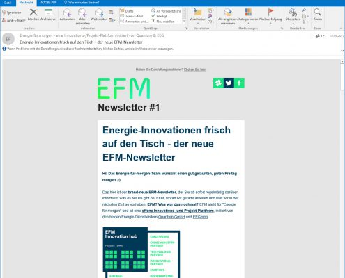 E-Mail Newsletter Kampagne